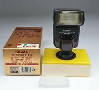 SIGMA ELECTRONIC FLASH EF-430 Super per Nikon-AF