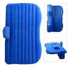 Auto Car Inflatable Air Cushion Seat Sleep Rest Bed Mattress Outdoor Sofa Blue