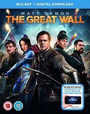 The Great Wall Digital Download) Blu-ray 2017 DVD 5053083095680