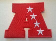 "American Football Conference~AFC~NFL~Embroidered PATCH~3 1/2"" x 2 3/4""~Iron Sew"
