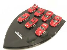 HOT WHEELS 1/72 Ferrari  F40 F50 Enzo 246GT Testa 250 GTO,  lot of  7 set
