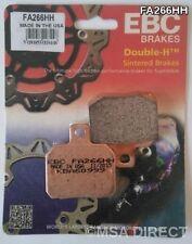 DUCATI 1098 (2007 à 2009) EBC Fritté plaquette frein arrière (FA266HH) (1 set)