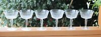"Set of 6 LENOX Brilliance 5 1/4"" Champagne or Sherbet Glasses - Ships Free"