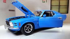 1:24 1970 Ford Mustang Boss 429 Coupe LGB Diecast Detailed Model Car 73303 BLue
