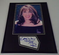 Kate Linder Signed Framed 11x14 Photo Display Young & the Restless