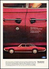 1967 Ford Thunderbird 4-door  Vintage Advertisement Print Art Car Ad K110