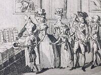 Marie Antoinette visite un Hôpital 1790 Messe Notre Dame de Paris Louis 17
