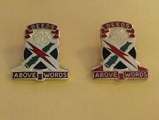 Us Army 108th Air Defense Artillery Brigade Unit Crests, Insignia, Pair, Di, Dui