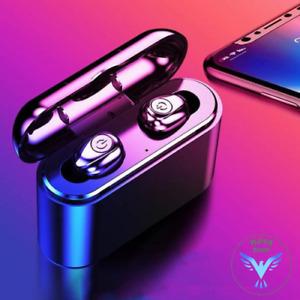 60% Off 2019 New Upgraded Wireless Earbuds Bluetooth 5.0 Headphones Waterproof