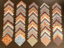 """96 piece 4"""" New & Vintage Assorted Square Quilt Blocks Fabric Quilting lot #602"""