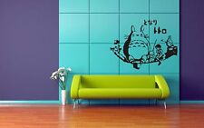 Wall Mural Sticker Decal Vinyl DecorMiyazaki Gibli Totoro Anime Manga Japan