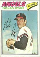 1977 Topps Baseball #650 Nolan Ryan California Angels SP Card Centered
