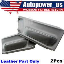 For 98 10 Volkswagen Beetle 2 Door Panel Insert Cards Vinyl Leather Gray Fits 2004 Volkswagen Beetle