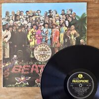 The Beatles ~ Sgt Peppers (Parlophone PMC 7027) 1967 1st UK Vinyl
