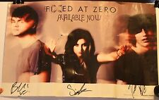 "Versaemerge Hand Signed 11 x 17"" Promo Poster Alternative Rock Band Sierra Kay"