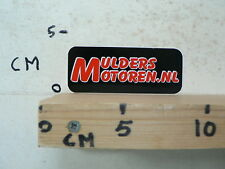 STICKER,DECAL MULDERS MOTOREN . NL  MOTO BIKE ?