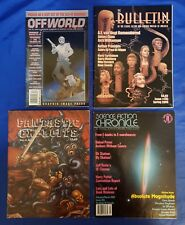 4 Science Fiction Fanzines Offworld Bulletin Fantastic Exploits Chronicle FN/VF