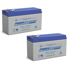 Power-Sonic 2 Pack - 12V 9AH Battery Replacement for APC RBC50 Backups BK1250