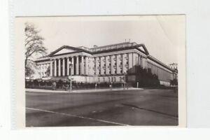 "Small B/W Vintage Photograph Washington DC Photo Treasury Building 1940  5"" x 3"""