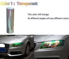 Car Headlight Taillight Fog Light Vinyl Tint Film 200x30cm Universal Colorful