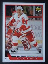NHL 345 Steve Chiasson Detroit Red Wings Upper Deck 1993/94