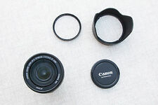 Canon EF-S 15-85mm f/3.5-5.6 IS USM + Pare-soleil + Filtre Neutre