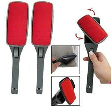 HomeAide (2 Pack) Magic Lint Brush Pet Hair Remover Clothing with Swivel