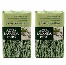 AGUA LAVANDA PUIG - Jabon aromatico / Soap / Seife - 2 Uds X 125 g - Jabón
