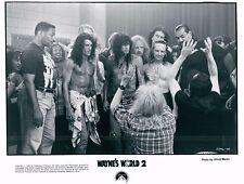 Mike Myers, Dana Carvey & Aerosmith Wayne's World 2 Unsigned Glossy 8x10 (I)
