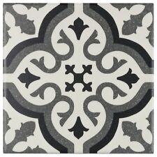 MTO0234 | Modern Square Black Grey White Porcelain Mosaic Tile Backsplash Wall
