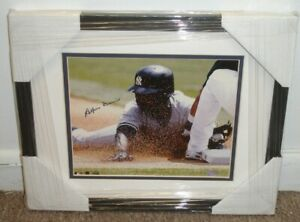 Alfonso Soriano NY Yankees Autographed 8x10 Framed Color Photo STEINER