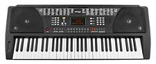 32055 teclado ritmico con soporte notas color negro Funkey 61