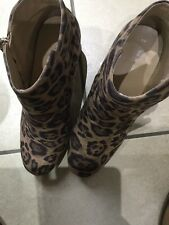 New Look Botas Estampado De Leopardo