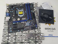 MSI B85M-E45 Mainboard LGA 1150 DDR3 Intel 4th I3 I5 I7 Gigabit LAN Sata