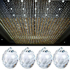 1X 20mm Hanging Crystal Ball Prism Lighting Pendant Parts Glass Lamp Chandelier