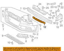 AUDI OEM A5 Quattro FR Bumper Face-Impact Foam Energy Absorber Bar 8T0807550F