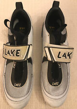 Lake Cx110 Tri Cycling Triathlon Shoes Men's Size 10.5 Euro 44.5 Excellent Cond