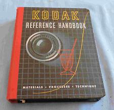 Late 1940's- 50's Kodak Reference Handbook - C3104