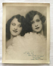 1929 SIDELL SISTERS SIGNED SHOW BOAT 11x14 FROM WARDROBE MISTRESS COLLECTION