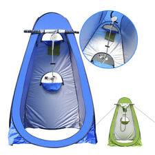 Pop-Up Portable Toilet Tent Privacy Shower Changing Camping Outdoor Hiking DE