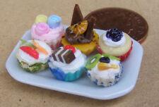 Single Item Miniature Cakes, Tarts & Pies for Dolls
