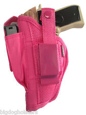 AMT Backup 380 Pink Nylon Gun Holster Protech OWB | Ambidextrous