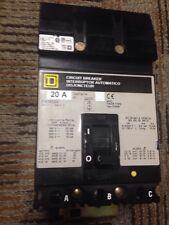 SQUARE D FA36020 20 Amp 3 Pole I-Line Breaker 480Y 277 VAC Power Pact SQ D SQD