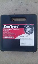 -NEW- set of Peerless SnoTrac tire chains for 15 and 16 inch tires   222955