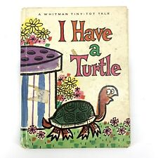 I Have A Turtle Kathy Bing 1966 Whitman Tiny Tot Tale Vintage