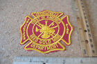 ~GEORGEVILLE VOLUNTEER FIRE DEPT~FIRST IN AMERICA~REED GOLD MINE~FABRIC PATCH~