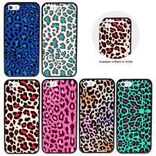 Estampado de Leopardo parachoques caso para Apple iPhone 5 5s se 5se 6 6s 7 8 Plus X XS Cubierta