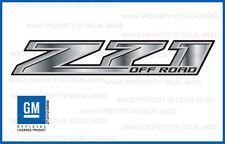 set 2: Z71 Off Road Chevy Silverado 2014-2018 Decals Stickers Fade Steel GRSTEEL