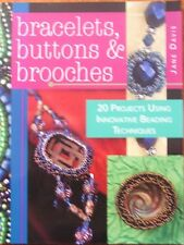 Bracelets, Buttons and Brooches by Jane Davis