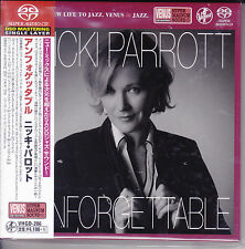 Nicki Parrott Unforgettable Nat King Cole SACD Japan Venus Records Audiophile